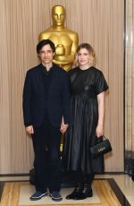 Greta Gerwig At AMPAS New Members Event, London