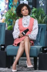 Gugu Mbatha-Raw Attends the Build Series at Build Studio