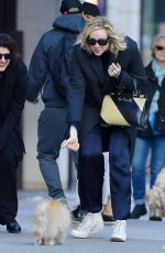 Gwendoline Christie Out in New York City