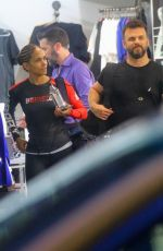 Halle Berry Leaving the gym in NYC