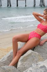 Hannah Godwin Models some of her Getaway x Hannah G Collection in Redondo Beach