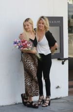 Heather Locklear Celebrates her daughter Ava Sambora 22nd Birthday at Fig and Olive in West Hollywood