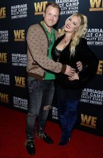 Heidi Montag Attending the premiere of marriage bootcamp in LA