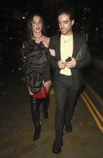 Helen Flanagan Leaving the Molly Mae Beauty Work Event at Menagerie in Manchester