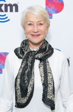 Helen Mirren Visits The SiriusXM Hollywood Studios in Los Angeles