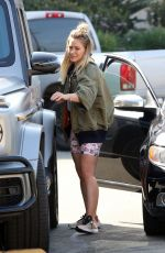 Hilary Duff Outside Joan
