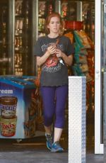 Isla Fisher Is out and about in Los Angeles