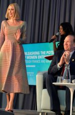 Ivanka Trump At IMF World Bank Annual Meetings, Washington
