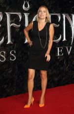 Jasmine Harman Attends the Maleficent: Mistress of Evil European Film Premiere at the Odeon IMAX Waterloo in London