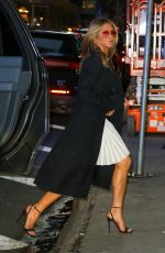 Jennifer Aniston Arriving at Good Morning America Show to promote