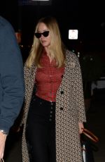 Jennifer Lawrence and her fiance Cooke Maroney are seen leaving King Italian restaurant in New York City