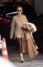 Jennifer Lawrence At her New York City apartment to a SUV Car waiting for them outside