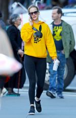 Jennifer Lawrence Going to the gym in NYC