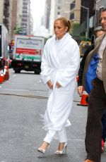 Jennifer Lopez Seen on the movie set of the