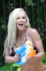 Jenny McCarthy Taping of season 2 of The Masked Singer, Los Angeles