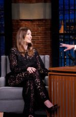Jessica Biel At Late Night with Seth Meyers