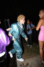 Jessica Biel Attends the Casamigos Halloween Party in Beverly Hills