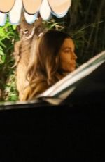 Jessica Biel Leaving San Vicente Bungalows in West Hollywood