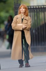Jessica Chastain Shows off natural beauty as she goes make-up free while bundling up during solo outing in New York City