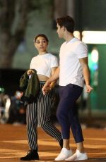 Jessica Parker Kennedy Visits her BF as the cameras roll in Los Angeles for Fox