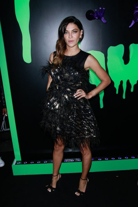 Jessica Szohr At Huluween Party at New York Comic Con