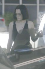 Jessie J Fuels up her ride at a Los Angeles gas station