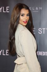 Joanna Chimonides Attends the press launch for The Style, The Power Edit at EL&N Cafe in London