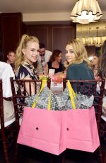 Josephine Langford At InStyle & Kate Spade New York Dinner Co-Hosted By Laura Brown & Nicola Glass at Sunset Tower in West Hollywood