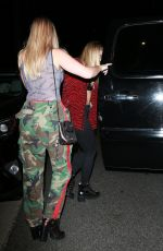 Josie Canseco Leaves the mansion party in Beverly Hills