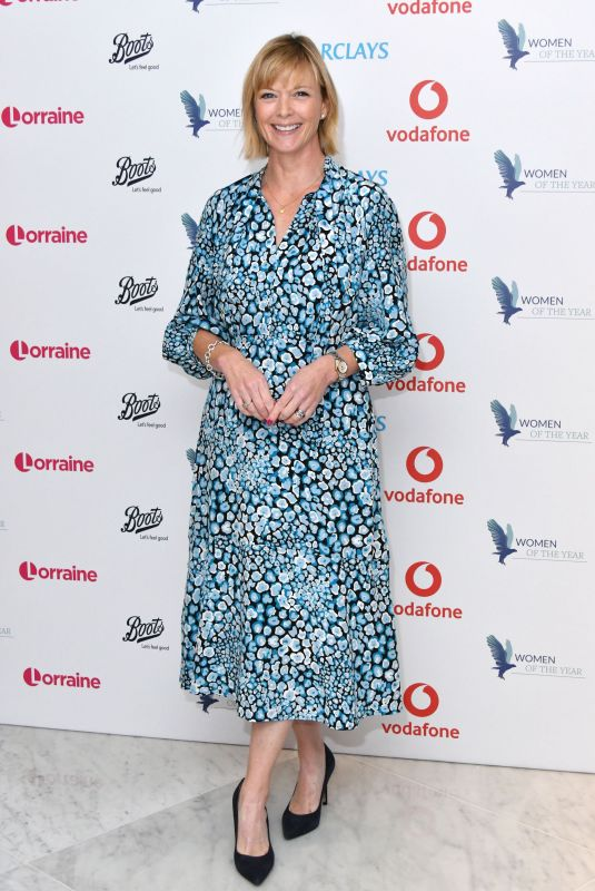 Julie Etchingham At Women of the Year Lunch and Awards, London, UK