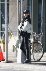 Kaia Gerber Leaving the gym in NYC