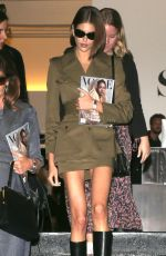 Kaia Gerber Spotted at Vogue Forces of Fashion at Spring Studio in NYC