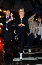 Karlie Kloss Outside Nordstrom NY Flagship Opening Party