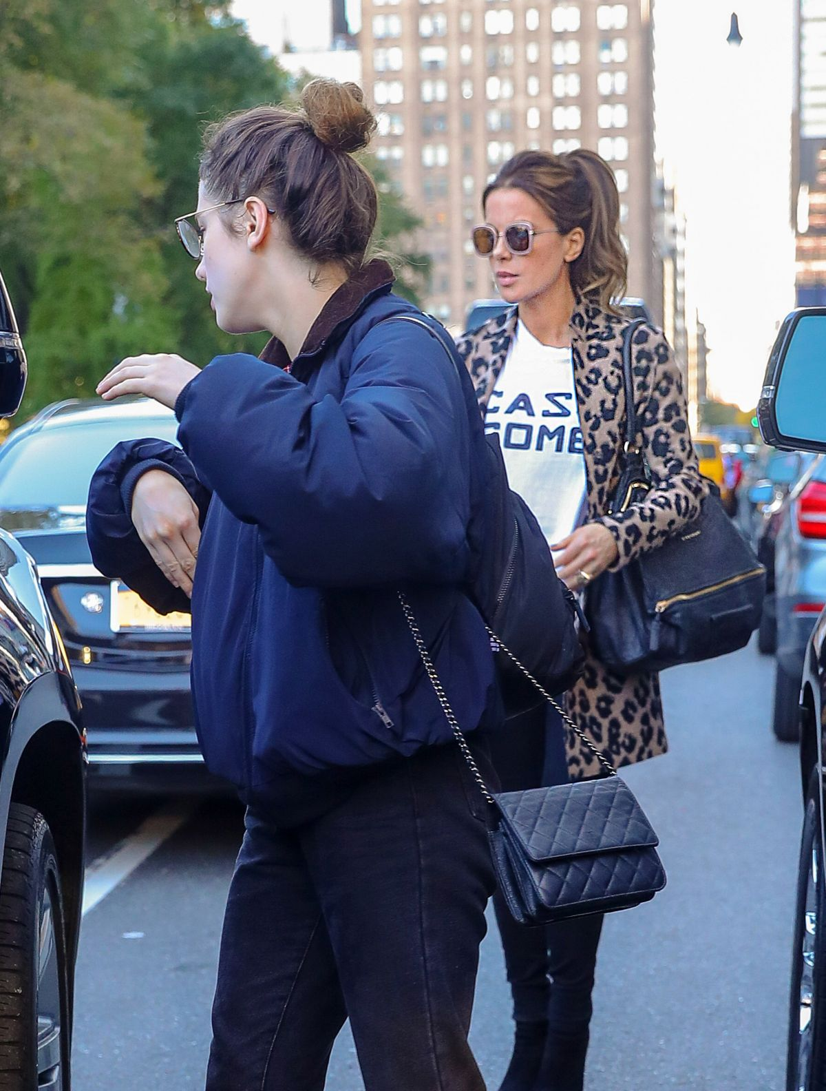 Kate Beckinsale At her daughters Lily Mo Sheens