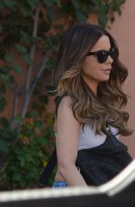 Kate Beckinsale Going to the skin care salon in Los Angeles