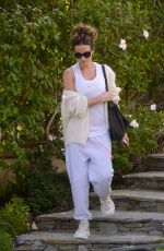 Kate Beckinsale Leaving her house in LA