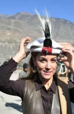 Kate Middleton Visits the Chiatibo glacier in the Chitral District of Khyber-Pakhunkwa Province, Pakistan