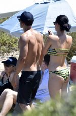 Katy Perry At a beach in Italy