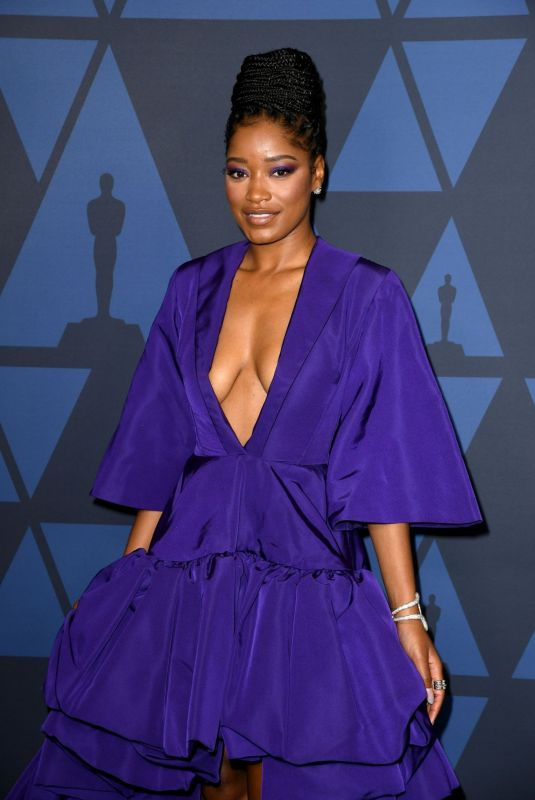 Keke Palmer At Academy of Motion Picture Arts and Sciences
