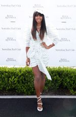 Kelly Rowland At Everest Race Day at Royal Randwick Racecourse in Sydney
