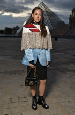 Kelsey Chow At Louis Vuitton show in Paris