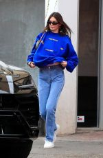Kendall Jenner Stops by Kate Somerville in West Hollywood