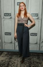 Kennedy McMann At AOL Build Series for Nancy Drew in NY