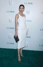 Kimberley Anne Woltemas At La Mer by Sorrenti Campaign Launch, New York