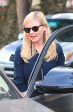 Kirsten Dunst Outside AGO Restaurant in West Hollywood