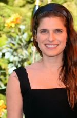 Lake Bell At Veuve Clicquot Polo Classic at Will Rogers State Park in LA