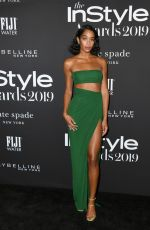 Laura Harrier At 5th Annual InStyle Awards in Los Angeles