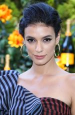 Laysla De Oliveira At Veuve Clicquot Polo Classic, Will Rogers State Park, Los Angeles