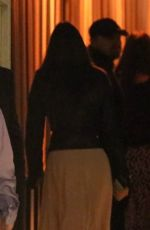 Leonardo DiCaprio and Camila Morrone attend an event at the San Vicente Bungalows in West Hollywood