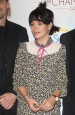 Lily Allen At Champions for Change Gala in New York